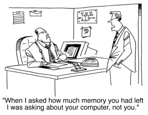 Cartoon about bytes and memory